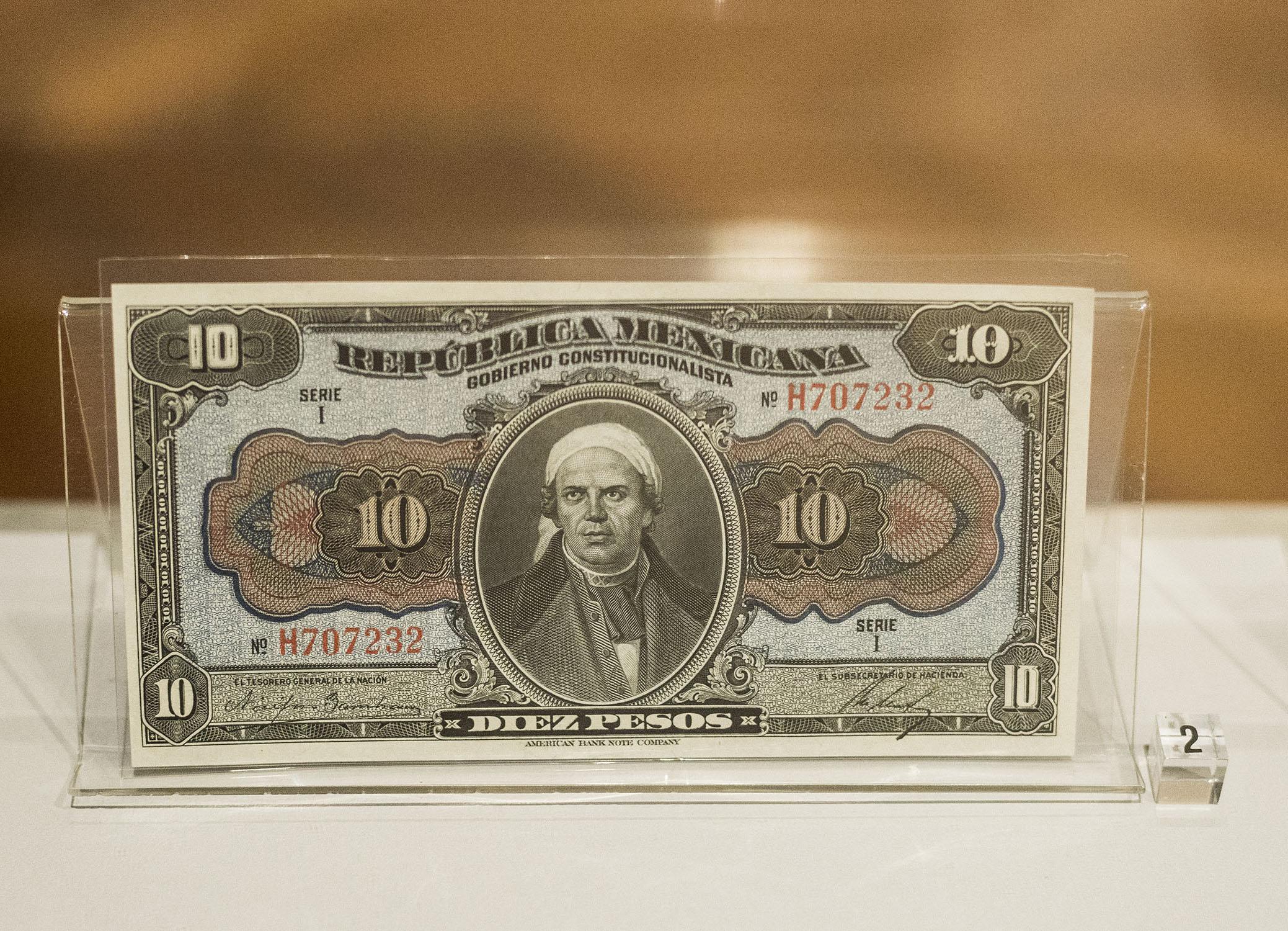 Imagen Moneda e Historia en el Centenario de la Constitución de 1917
